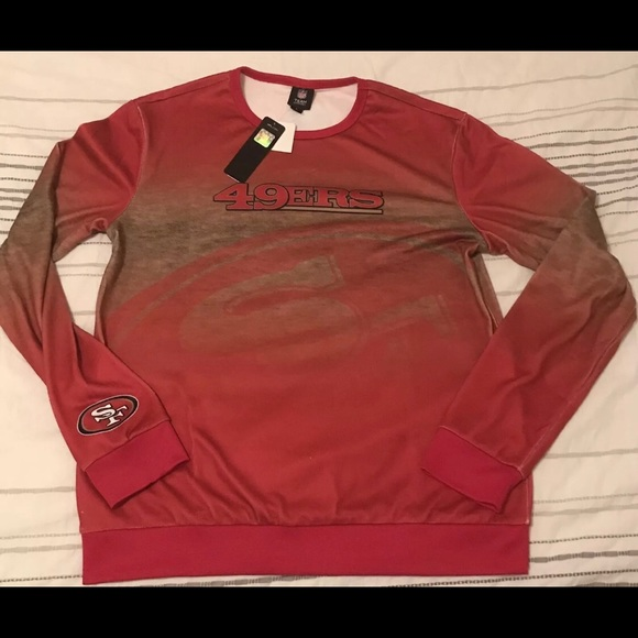 low priced 9c26b 440e2 San Francisco 49ers Color Rush Sweater - Size L NWT